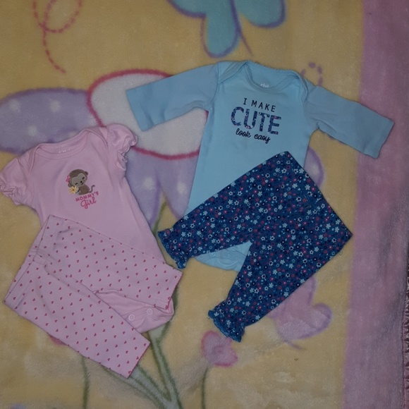 aef0e3b573cfe Child of Mine by Carters Matching Sets | Newborn Girls Onesies With ...